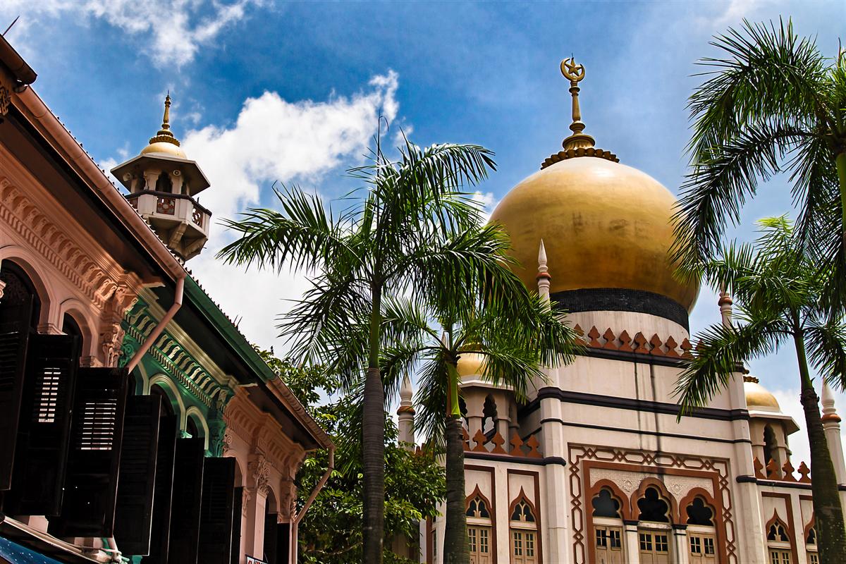Masjid Sultan In Muscat Street